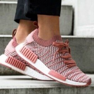 Adidas NMD R1 9 pink ash knit sneakers no box
